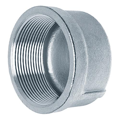 Заглушка колпачок нержавеющая вр AISI 304 DN20 (26.9мм) 3/4''